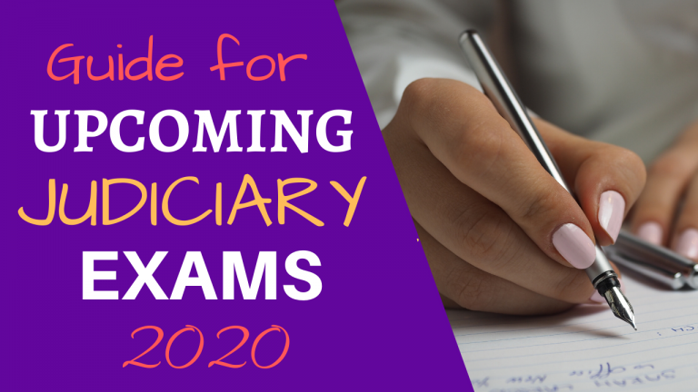 Upcoming Judicial Services Exam 2020 – The Complete Guide
